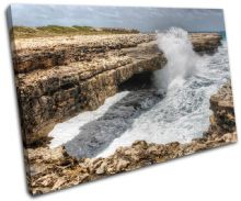 Devils Bridge Sunset Seascape - 13-0729(00B)-SG32-LO